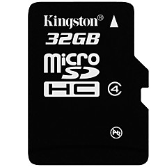 Kingston 32GB Micro SD kort TF Card hukommelseskort Class4