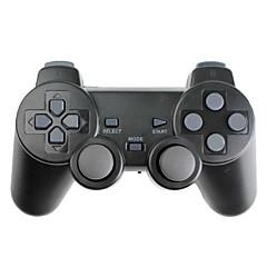 Langaton PS3-tärinäohjain (PS3/PS2/PC, 2.4Ghz, musta)