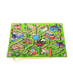 Labyrinth & Puzzles Holz