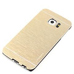 Etui Til Samsung Galaxy S7 edge S7 Stødsikker Ultratyndt Bagcover Helfarve Hårdt Aluminium for S7 edge S7 S6 edge S6 S5