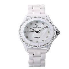Tevise Γυναικεία Για Ζευγάρια Μοδάτο Ρολόι μηχανικό ρολόι Προσομοίωσης Ρόμβος Ρολόι ΧαλαζίαςΑνθεκτικό στο Νερό Φωτίζει απομίμηση