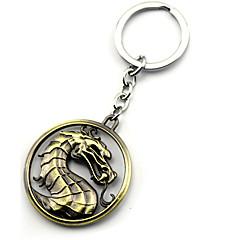 Daha Fazla Aksesuarlar Esinlenen Game of Thrones Cosplay Anime Cosplay Aksesuarları Anahtarlık Altın / Gümüş Alaşım