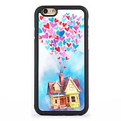 Назначение Кейс для iPhone 7 Кейс для iPhone 6 Кейс для iPhone 5 Чехлы панели С узором Задняя крышка Кейс для Воздушные шары Твердый