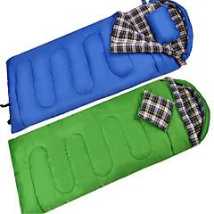 Bolsa de dormir Saco Rectangular Sencilla 10 Algodón Vacío PlumónX30 Senderismo Camping Viaje Al Aire Libre InteriorBien Ventilado