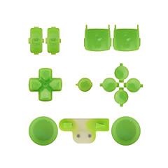 udskiftning controller tilfælde monteringssæt indstillet til ps3 gul / blå / grøn