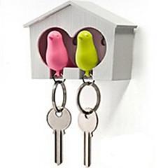 Porte-clés Oiseau Adorable Sifflet Arc-en-ciel ABS
