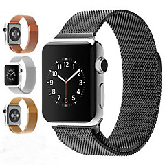 halpa Apple Watch-hihnat-Watch Band varten Apple Watch Series 3 / 2 / 1 Apple Rannehihna Milanolainen Ruostumaton teräs
