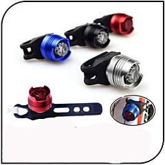 Baglygte til cykel sikkerhedslys LED - Cykling Vandtæt Varsling CR2032 80 Lumen Batteri Cykling-XIE SHENG®