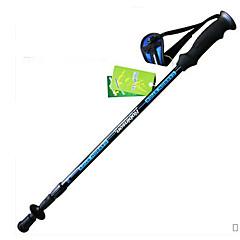 3 Kävelykepit Kävelysauvat Retkeily pole 135cm (53 Tuumaa) Nopeus Kestävä Kokoontaitettava Aluminum Hiilikuitu Alumiiniseos Lumikävely