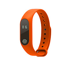 voordelige Smartwatches-Smart Armband Aanraakscherm Hartslagmeter Waterbestendig Verbrande calorieën Stappentellers Logboek Oefeningen Afstandsmeting Draagbaar