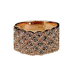 Χαμηλού Κόστους Δαχτυλίδια-Γυναικεία Βέρες Μοντέρνα Στρας Κράμα Κοσμήματα Πάρτι