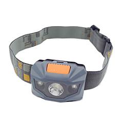 Χαμηλού Κόστους Φακοί Κεφαλιού-Φακοί Κεφαλιού Μπροστινό φως LED 100 lm 3 Τρόπος LED Zoomable Αντιολισθητική λαβή Μικρό Μέγεθος High Power Αλλάζει Χρώμα