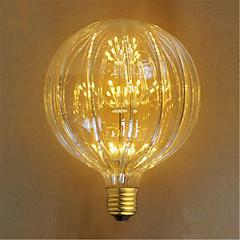 お買い得  LED 電球-E26/E27 白熱電球 49 LEDの DIP LED 装飾用 イエロー 100lm 23000K 交流220から240V