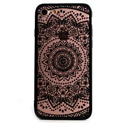 Назначение iPhone X iPhone 8 iPhone 7 iPhone 6 Кейс для iPhone 5 Чехлы панели Рельефный Задняя крышка Кейс для Кружева Печать Твердый PC