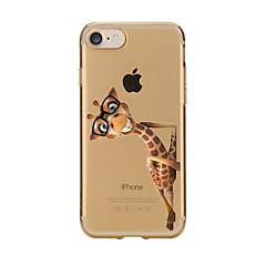 Για iPhone X iPhone 8 iPhone 7 iPhone 6 Θήκη iPhone 5 Θήκες Καλύμματα Διαφανής Με σχέδια Πίσω Κάλυμμα tok Ζώο Μαλακή TPU για Apple iPhone
