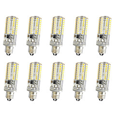 3W E14 E12 E11 Decoration Light T 64 SMD 3014 300 lm Warm White Cold White K Dimmable AC220 V 10pcs