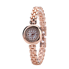 お買い得  レディース腕時計-女性用 ファッションウォッチ リストウォッチ クォーツ 合金 バンド ローズゴールド