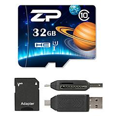 ZP 32GB MicroSD فئة 10 80 Other متعددة في قارئ بطاقة واحدة مايكرو التنمية المستدامة قارئ بطاقة SD قارئ بطاقة ZP-1 USB 2.0