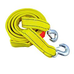 abordables Herramientas y Equipos de Diagnóstico-doble cubierta para vehículos pesados longitud de la cuerda cuerda de remolque de tracción 4 m de carga de peso de 5 toneladas