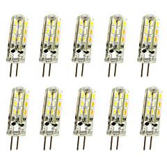 1W G4 LED Φώτα με 2 pin T 24LED SMD 3014 100 lm Θερμό Λευκό Ψυχρό Λευκό κ Διακοσμητικό DC 12 V