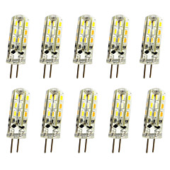 1W G4 LED Bi-Pin lamput T 24LED SMD 3014 100 lm Lämmin valkoinen Kylmä valkoinen K Koristeltu DC 12 V