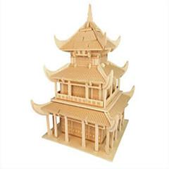 Legpuzzels Houten puzzels Bouw blokken DIY Toys Beroemd gebouw Chinese architectuur 1 Hout Kristal Modelbouw & constructiespeelgoed