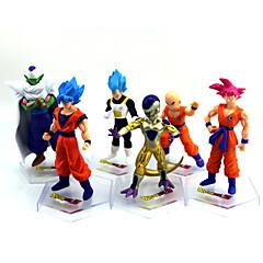 Anime Akciófigurák Ihlette Dragon Ball Goku Anime Szerepjáték Kiegészítők ábra Aranyozott PVC