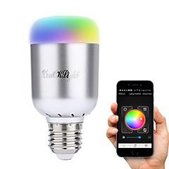 お買い得  LED 電球-YouOKLight 6W 450-500 lm E26/E27 LEDスマート電球 A60(A19) 16 LEDの ハイパワーLED Bluetooth 装飾用 温白色 クールホワイト ナチュラルホワイト RGB AC 100-240V