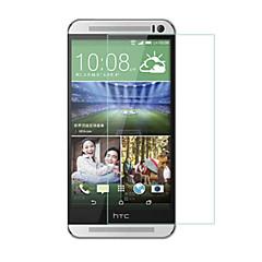 お買い得  HTC 用スクリーンプロテクター-スクリーンプロテクター HTC のために HTC One M9 強化ガラス 1枚 ハイディフィニション(HD)