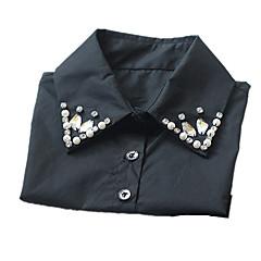お買い得  ネックレス-女性用 カラー - レース ベーシック ホワイト, ブラック ネックレス 用途 誕生日, 日常, カジュアル