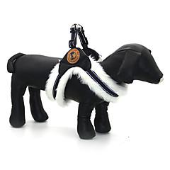 halpa Koiran Kaulapannat, valjaat jatalutushihnat-Koira Valjaat Säädettävä / Sisäänvedettävä Heijastava Yhtenäinen Kangas Valkoinen Musta Khaki