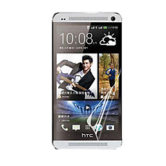 protetor de tela hd com pó-absorvedor para HTC One / m7 (5 peças)