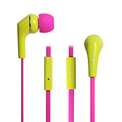 ουδέτερη Προϊόν HST-15 Ακουστικά Ψείρες (Μέσα στο Κανάλι Αυτιού)ForMedia Player/Tablet Κινητό Τηλέφωνο ΥπολογιστήςWithΜε Μικρόφωνο DJ