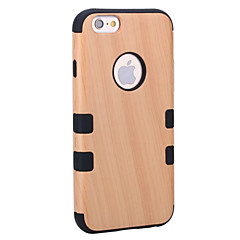 Kılıf Na Apple iPhone 8 iPhone 8 Plus Odporne na wstrząsy Odporne na kurz Futerał Tekstura drewna Twarde Drewno na iPhone 8 Plus iPhone 8