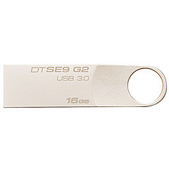 kingston dtse9g2 16 GB USB 3.0 flash drive digitale DataTraveler metal