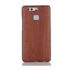 For Shockproof Embossed Pattern Case Back Cover Case Solid color Hard Pear Solid Wood for Huawei P9 Huawei P9 Lite