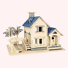 preiswerte -Holzpuzzle Berühmte Gebäude Chinesische Architektur Haus Profi Level Holz Weihnachten Karneval Geburtstag
