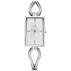 preiswerte Tolle Angebote auf Uhren-SK Damen Modeuhr Quartz / Legierung Band Analog Freizeit Elegant Silber / Rotgold - Silber Rotgold