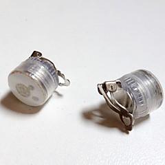 preiswerte Ausgefallene LED-Beleuchtung-2pcs Ohrstecker Ohrring Rot / Blau Andere batteriebetrieben Kreativ