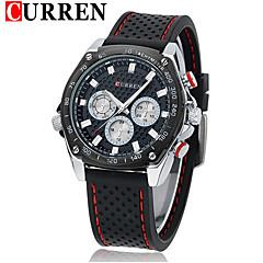 Men's Sport Watch Fashion Watch Wrist watch Quartz Genuine Leather Band Vintage Casual Multi-Colored