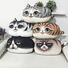 1pc 3d 인쇄 고양이 패턴 베개 소파 쿠션 새로운 스타일 던져 베개