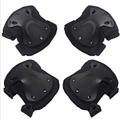 4 adet siyah şahin koruyucusu cs açık sürme kneepad dirsek ateli set motosiklet aksesuarları