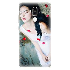 Для С узором Кейс для Задняя крышка Кейс для Соблазнительная девушка Мягкий TPU для Huawei Huawei Mate 9 Huawei Mate 8