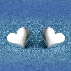 Oorknopjes Sieraden Liefde Verzilverd Legering Hartvorm Sieraden Voor Bruiloft Feest Dagelijks Causaal