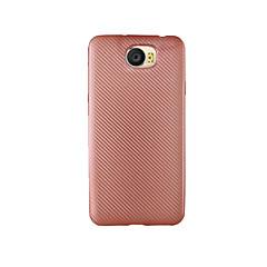 Для Защита от удара Кейс для Задняя крышка Кейс для Один цвет Мягкий Углеволокно для HuaweiHuawei P9 Huawei P9 Lite Huawei P9 Plus Huawei