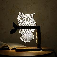 abordables LED e Iluminación-1pc LED de carga enchufe pequeña luz de la noche de la lámpara de cabecera del bebé teethe dormir lámpara de mano portátil de la lámpara