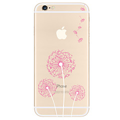 voordelige iPhone 7 Plus hoesjes-hoesje Voor Apple iPhone X iPhone 8 Plus iPhone 5 hoesje iPhone 6 iPhone 7 Patroon Achterkant Paardebloem Zacht TPU voor iPhone X iPhone