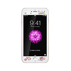 Недорогие Защитные пленки для iPhone 6s / 6 Plus-для Apple IPhone 6 / 6с плюс 5.5inch прозрачный протектор переднего экрана закаленного стекла с узором выбивают мультфильма светятся в