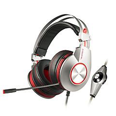 xiberia k5u ammatillinen pelaamista kuulokkeet kuulokkeet Super stereo basso usb led stereo pelaamista kuulokkeita tietokoneen gamer