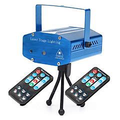 economico Luci per interni-U'King Luci LED da palcoscenico Portatile Facile da installare Controllo a distanza Attivazione sonora Verde Rosso